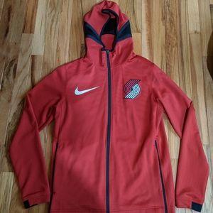 Authentic Portland Trailblazers warmup jersey